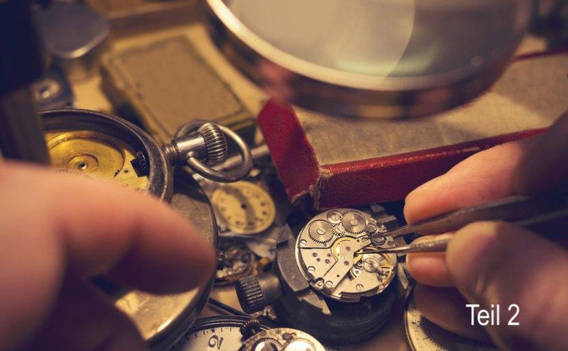 Alter von Taschenuhren bestimmen – Teil 2