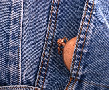 Taschenuhr neu