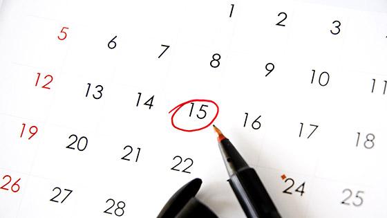 Uhren Kalender