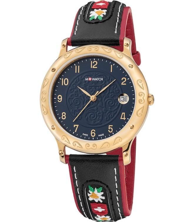 m-watch-ethno-38-schweizer-quartzuhr-blau