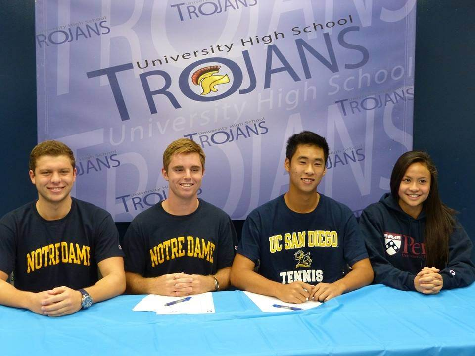 UHS Athletes commit to colleges