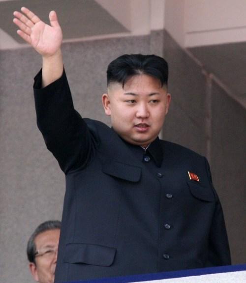 KIM JONG UN (Park Jin-Hee/Xinhua/ZUMA24.com/MCT)