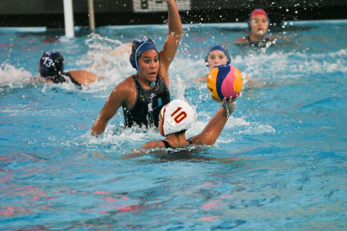 Girls water polo wins second at Falcon Tournament, but struggles in League