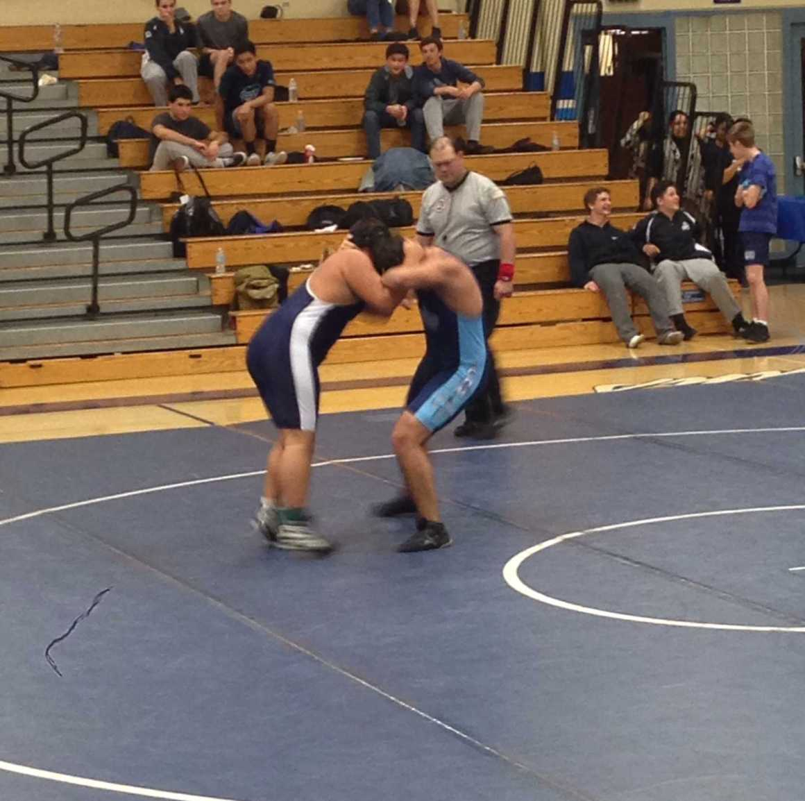 Wrestling falls to Beckman and Corona Del Mar