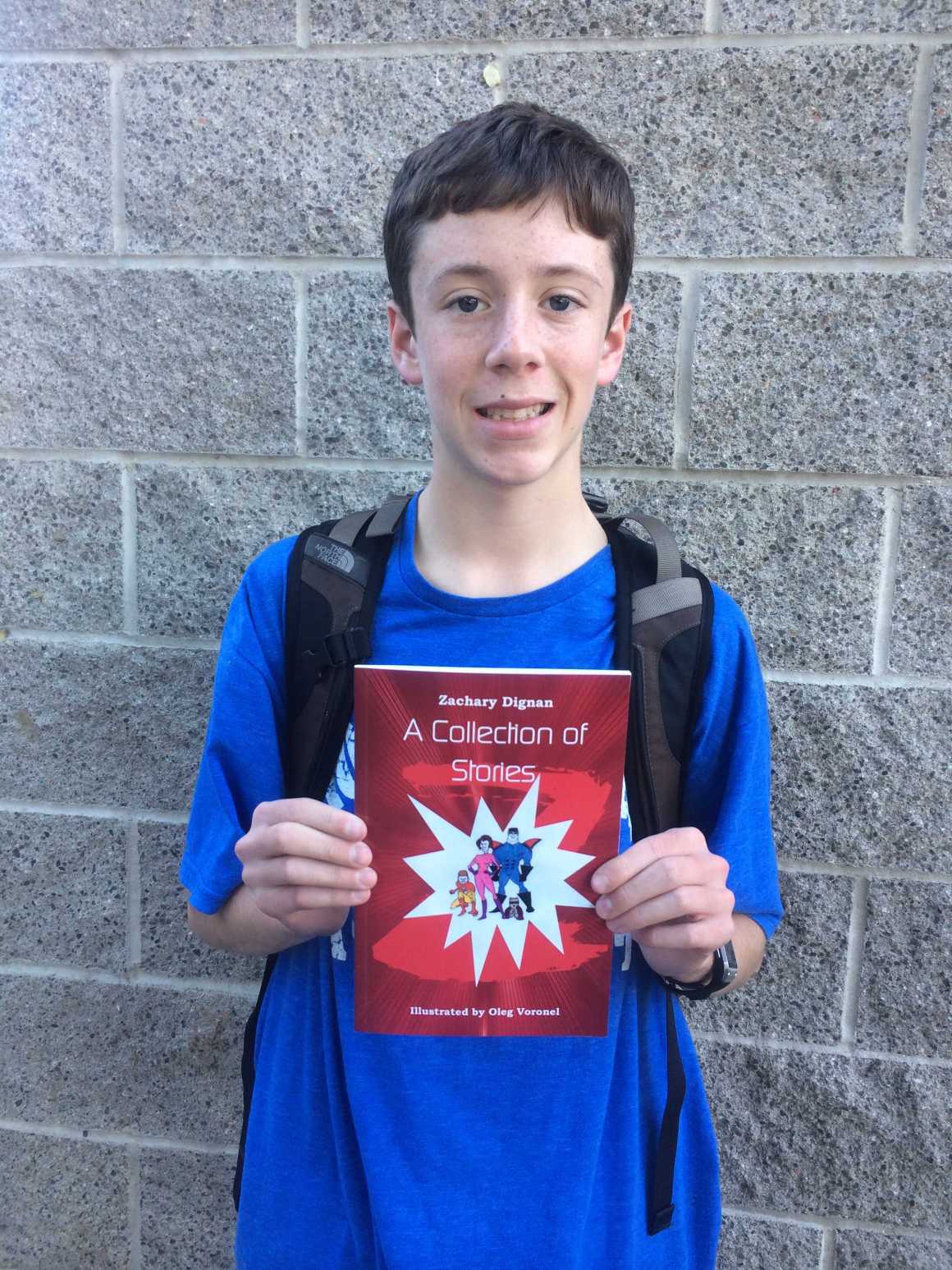 Zachary Dignan and his short story collection