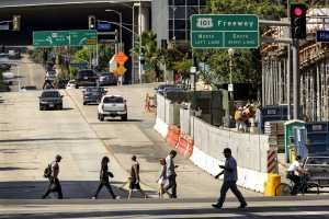 Puente Hills Fault extends through downtown Los Angeles courtesy of Ricardo Dearatanha/Los Angeles Times/MCT