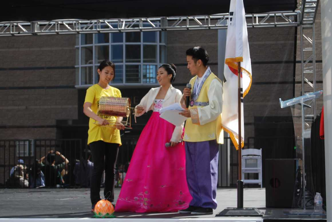 UHS students participate at the fifth Irvine Korean Cultural Festival
