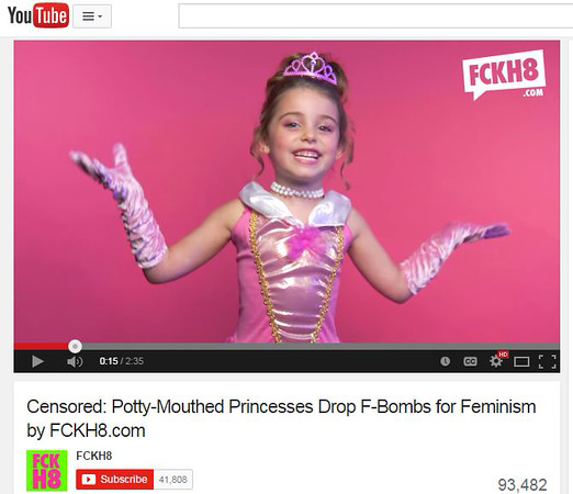 "In Response to ""Potty-Mouthed Princesses Drop F-Bombs to Support Feminism"""