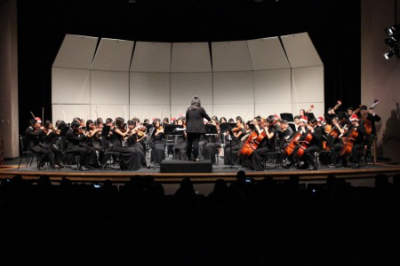 UHS Orchestra performs annual Winter Concert