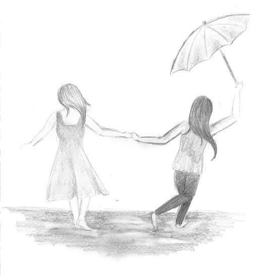 Pouring Rain: a poem