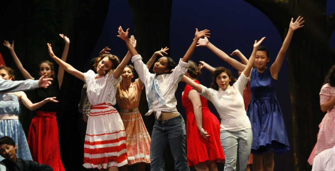 "Dreams come true: a review of ""The Pajama Game"""