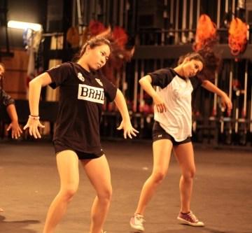 Dance Showcase: behind the scenes
