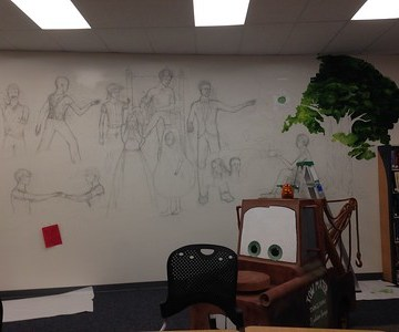 Painting a new future for the UHS library