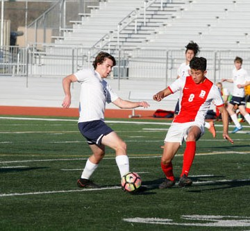 Boys Soccer shuts out Beckman in victory
