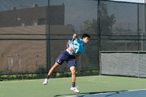 Boys Tennis wins league opener in demolition of Northwood