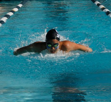 Boys and Girls Swim wins against Beckman for second league game
