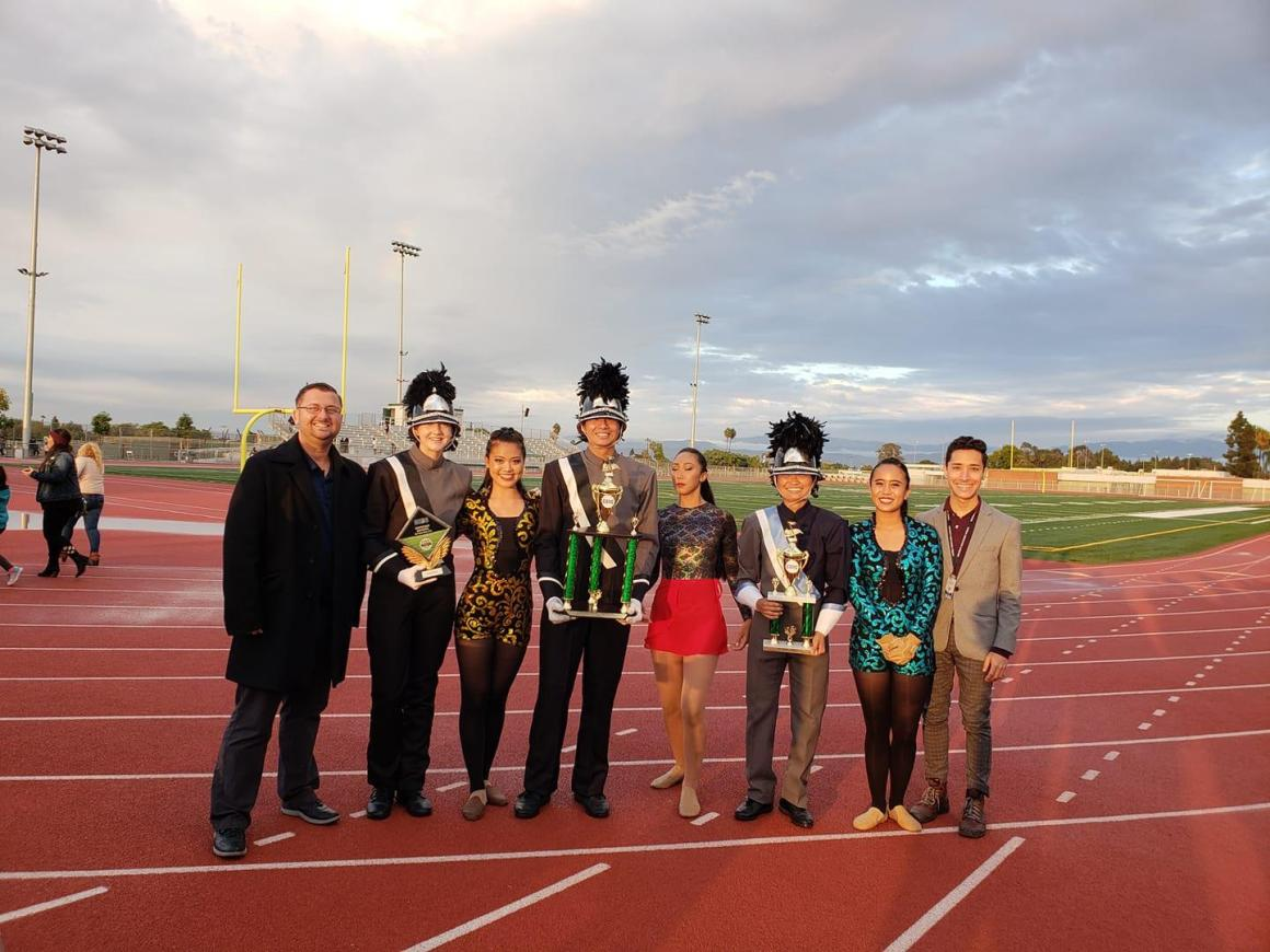 Marching Band wins South Coast Invitational