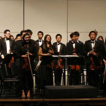 The First UHS Fall Orchestra Concert of the Year