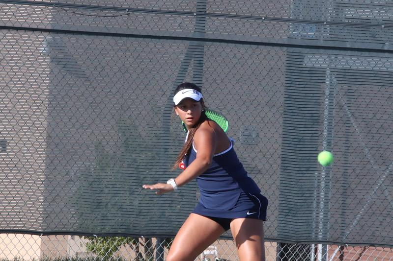 Girls Tennis Remain Undefeated in Game Against Beckman