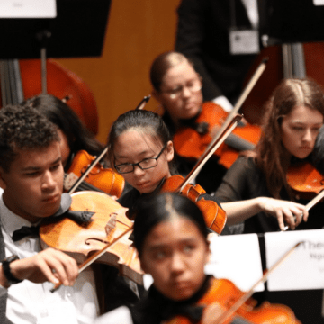 Eight UHS Students Selected for California All-State Orchestra