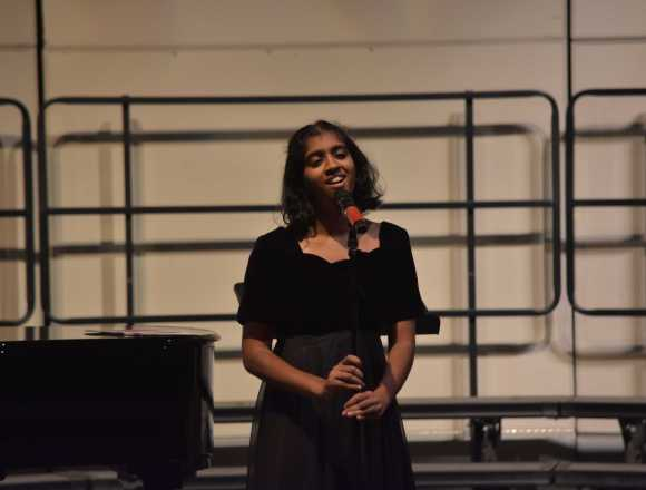 Choir Spotlight of the Month: Meghana Krishnan