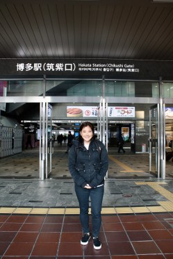 In front of Hakata Train Station