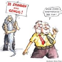 Cartoon des Monats