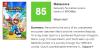 マリオ+ラビッツ キングダムバトル メタスコア85と高評価