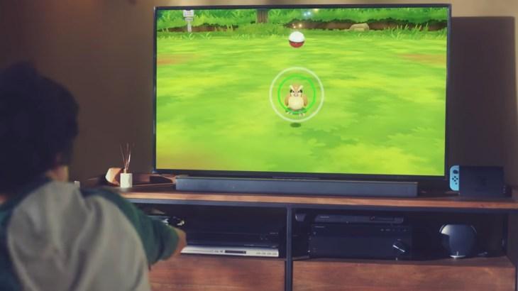ポケモンLet's Go! ボタン操作でもモンスターボールを投げることが可能