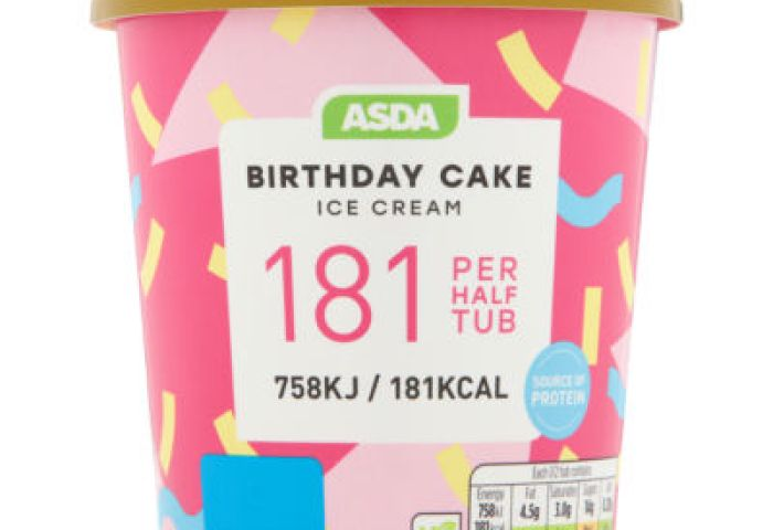 Asda Birthday Cake Ice Cream Asda Groceries