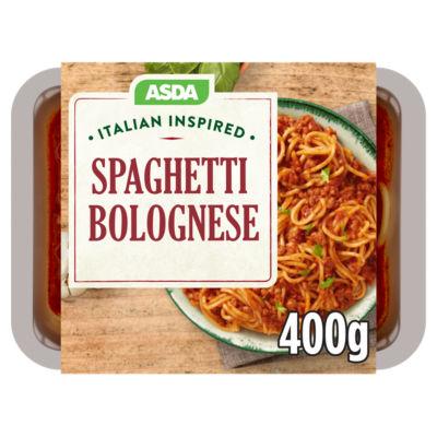 asda spaghetti bolognese