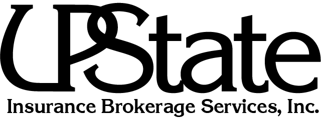 Upstate Insurance Brokerage Services Logo one color - Home