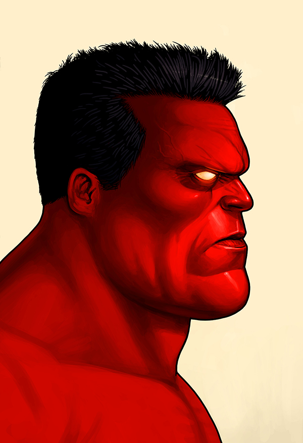 Marvel Character Portraits Mike Mitchell
