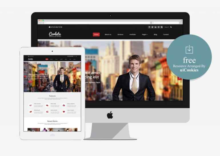 100 best free html5 responsive bootstrap templates corlate free responsive business html template maxwellsz