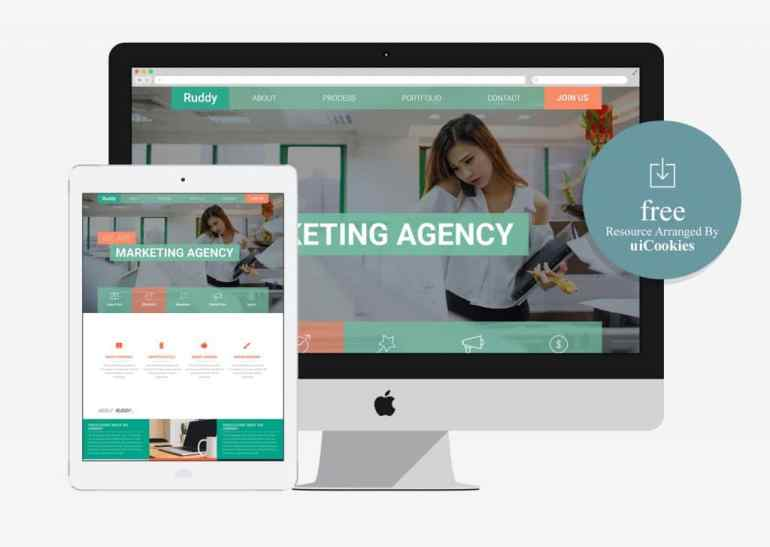 100 best free html5 responsive bootstrap templates ruddy free business flat bootstrap responsive web template cheaphphosting Image collections