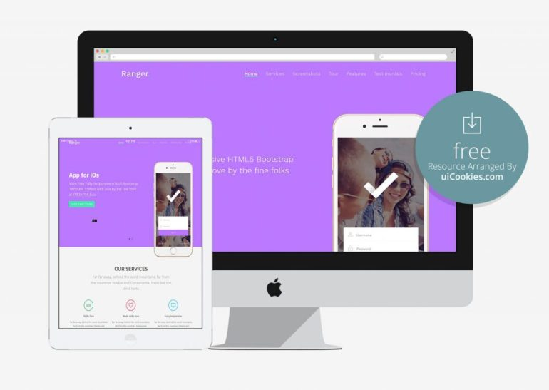 Ranger - Best Bootstrap Landing Page Template