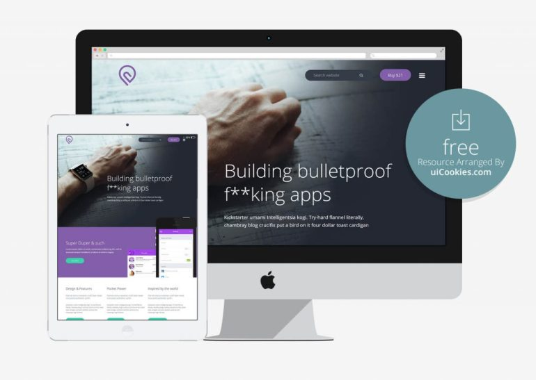 Tork - Fast loading Software Landing Bootstrap Template