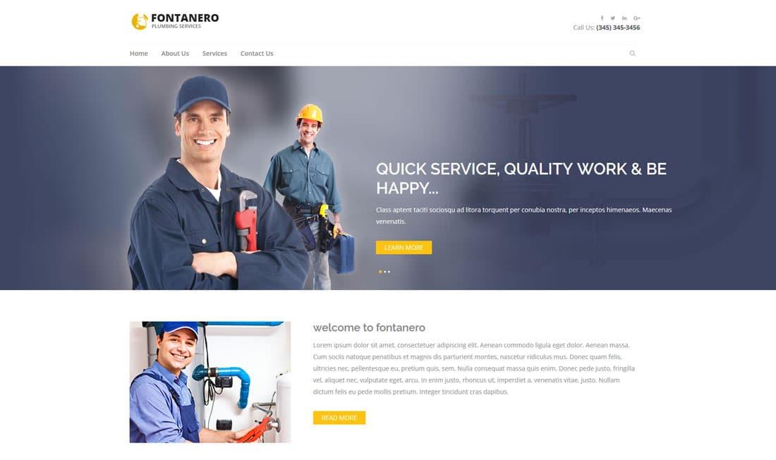 38 Best Free Construction Website Templates For Modern