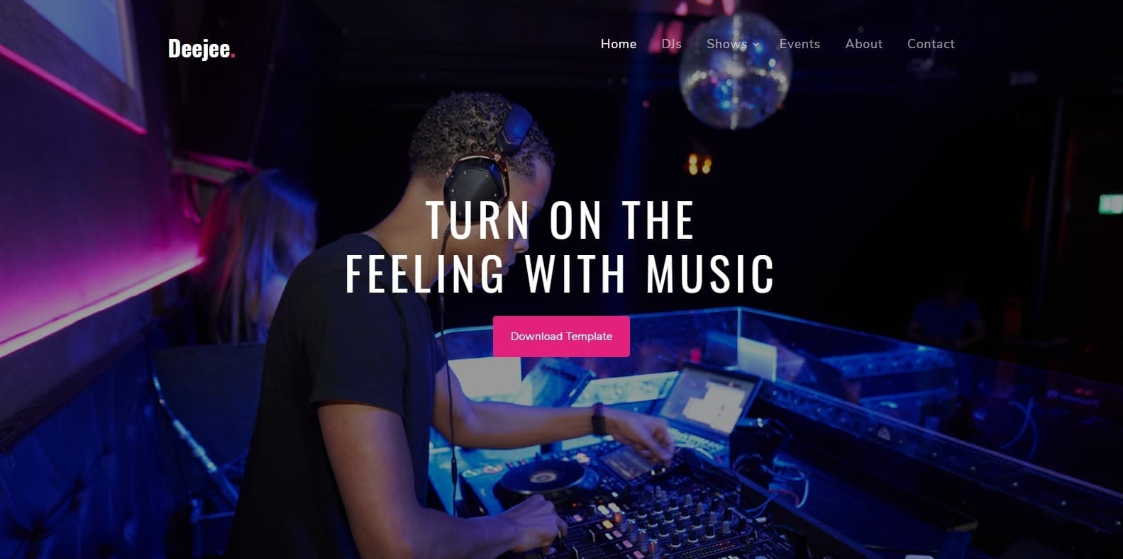 Hand Picked List Of Bootstrap Html Free Music Template For 2019
