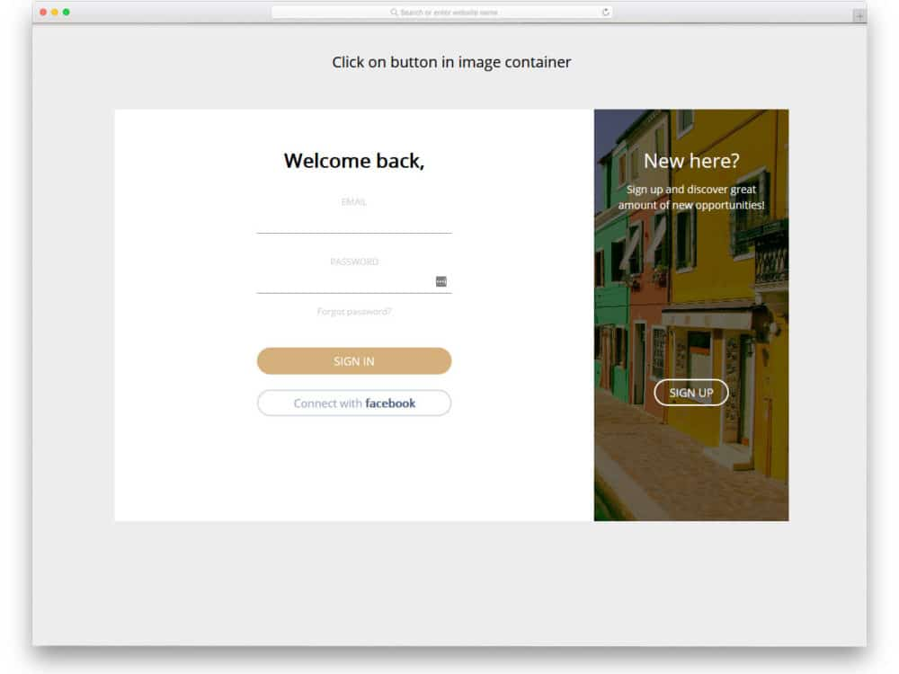 34 Best Free Login Forms For Websites And Mobile