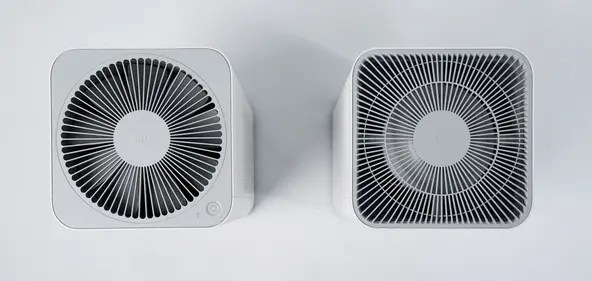 Air circuit system is optimized in Mi Air Purifier 3H / https://goefem.com/