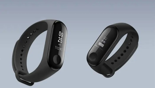 The dispaly of  Mi Band 3
