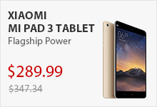 Sale price Xiaomi Mi Pad 3