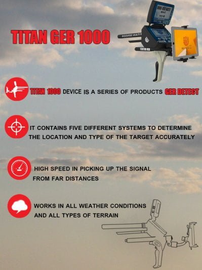 titan ger 1000 device 5 search systems
