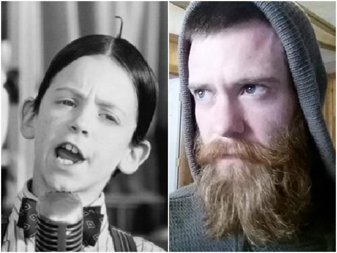 Bug Hall, The Little Rascals' Alfalfa, Is Now A Bearded