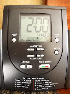Image result for hilton alarm clock