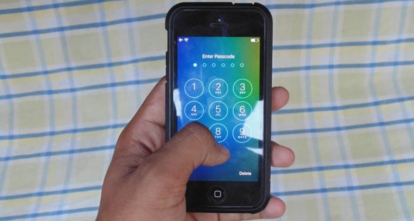 Как в iOS 9 задать пароль из шести цифр