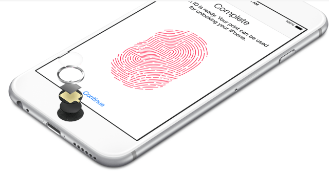 кнопка Home с Touch ID