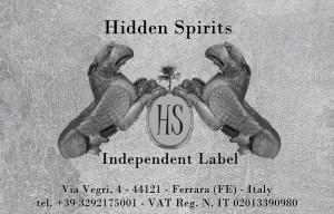 Biglietto Hidden Spirits