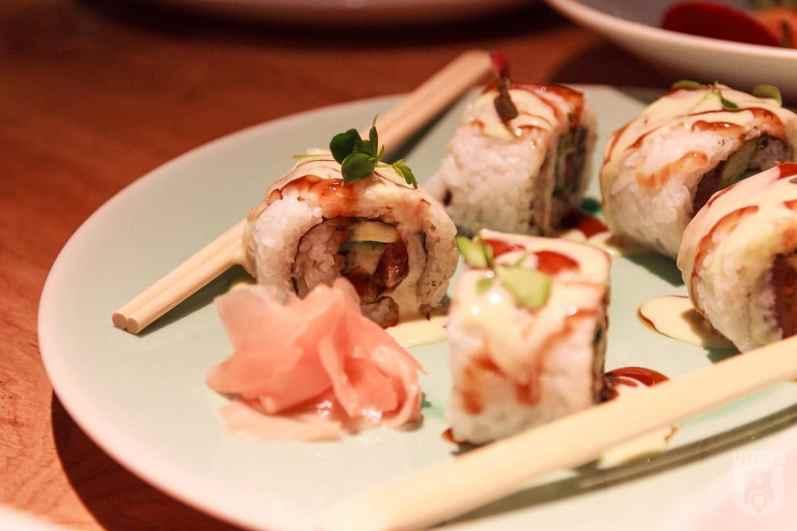 Nola Social - sushi